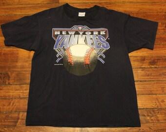 New York Yankees shirt 1993 graphic tee tshirt MLB Baseball XL
