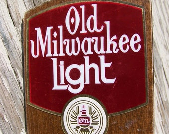 Vintage Old Milwaukee Light Beer Tap.Beer Collectibles.Beer Tap Handle.Old Milwaukee Beer.Beer Lover Gift.Beer Party Decorations.Breweriana.