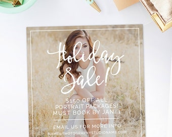 Black Friday Template, Photography Marketing Template, Holiday Marketing Templates, Christmas Marketing Templates, Instagram - AD208