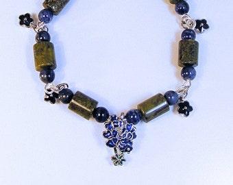 FIELD OF BLUEBONNETS Bracelet