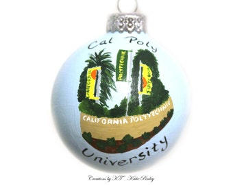 Special Place Ornament Hand Painted Made to Order