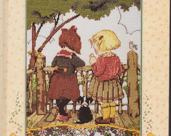 Mary Engelbreit Cross Stitch Book - Make A Wish - Cross Stitch Patterns From Greeting Cards and Borders