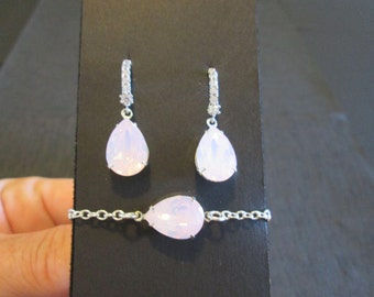 """Shop """"pink opal"""" in Jewelry Sets"""