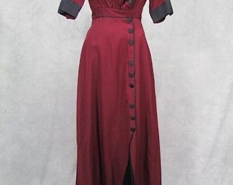 1915 Vintage Dress Edwardian Suffragette Gibson Girl Titantic