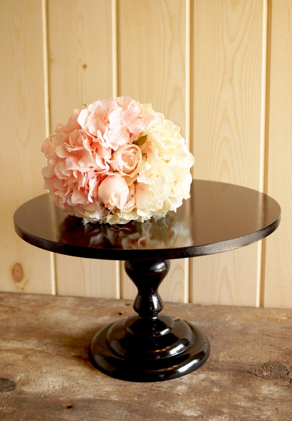 14 inch cake stand 14 inch black cake stand vintage inspired by ritamarieweddings 1020