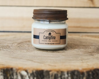8 oz Premium Soy Candle | Rust Twist-Off Lid