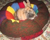plump Ugli Donut bunny rabbit bed for a medium sized bunny