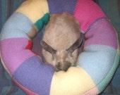 big plump Ugli Donut bunny bed vegan