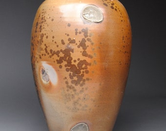 Vase Wood Fired Pottery C79