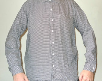 Checked Polo by Ralph Lauren Button Up Shirt L