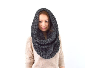 Chunky Cowl Hood Scarf | The Moscow