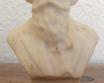 Vintage Brahms Classical Composer Bust Statue 5""