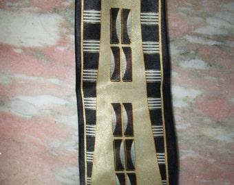 Vintage Men's Silk Necktie 1970's
