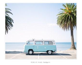 Volkswagen Camper Van Print