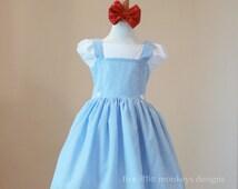 Dorothy of Oz Dress - Dorothy Dress - Dorothy of Oz Costume - Oz - Dorothy of Oz - Dorothy Costume
