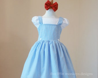 Dorothy of Oz Dress - Dorothy Dress - Dorothy of Oz Costume - Oz - Dorothy of Oz - Dorothy Costume
