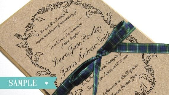 Wedding Invites Scotland
