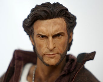 Wolverine - X-Men 12 inch Hot Toys Style 1/6 scale Custom Action Figure with extra bloody claws