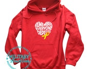 Remember Everyone Deployed, Red Friday Military Sweatshirt, Army, Air Force, Navy, Military Wife, Marines, Girlfriend, Deployment hoodie