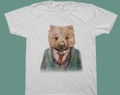 Wombat T-shirt, Unisex Adult T-shirts