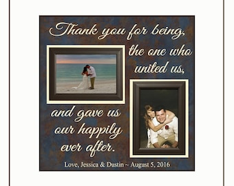 Wedding Officiant Gift ~ From Bride and Groom ~Thank You Gift ~Wedding Thank You For Being The One Who United Us~ Personalized Wedding Gift