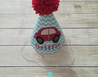 Boy Car Theme Birthday Hat Party