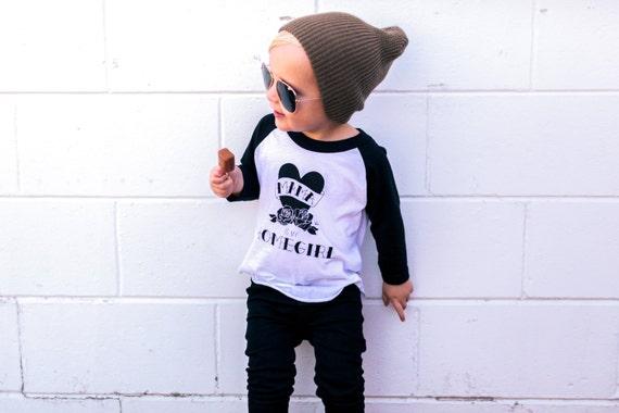 Mama is my Homegirl trendy kids tattoo shirts hipster baby - photo#26