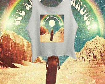 We Are All Stardust Crop Top