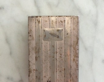 Matchbox Cover and Holder