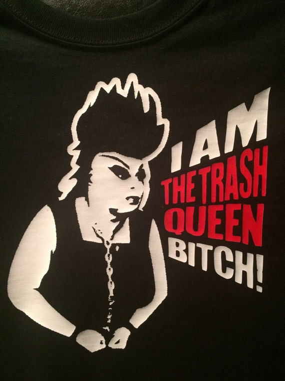 Divine T-shirt- Trash Queen -Female Trouble- John Waters