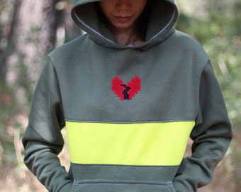 Undertale Character Cosplay Costume Chara Sweater Hoodie Jacket