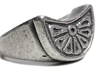 Ring Artisan Sunshine Silver Jewelry