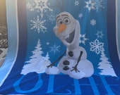 """Frozen's """"Olaf"""" Blanket"""