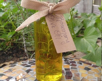 Organic Rosemary Infused Olive Oil