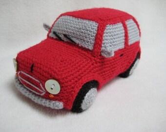 Knitting Patterns Mini Toys : Mini cooper Etsy
