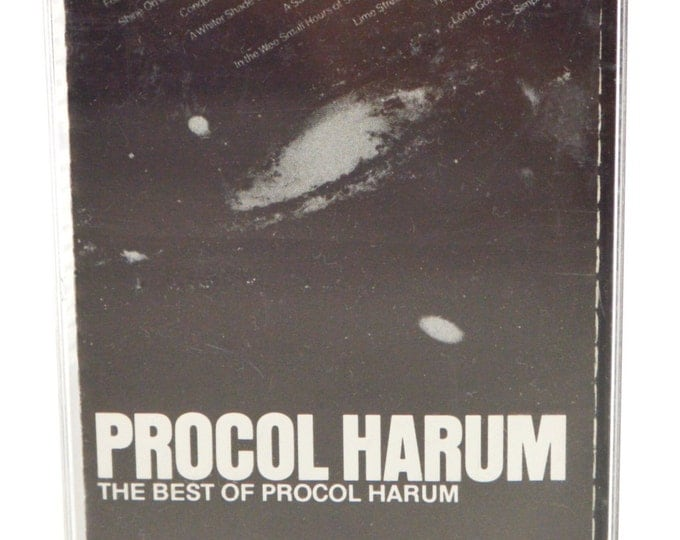Vintage 80s The Best of Procol Harum Album Cassette Tape