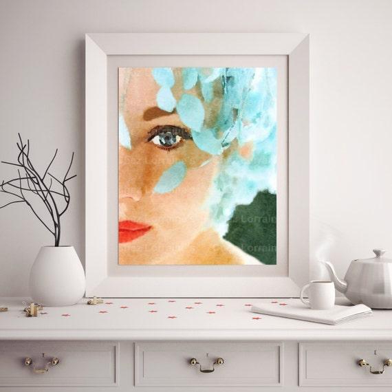 Audrey hepburn watercolor audrey hepburn poster audrey for Audrey hepburn bedroom designs