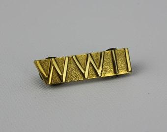World War II Pinback WW2