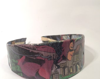 Catwoman Comic Book Headband