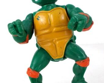 1988 Teenage Mutant Ninja Turtles Michaelangelo Loose Action Figure