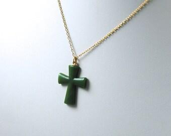 Vintage Cross Necklace 1970's