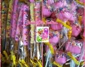 Shopkins Marshmallows and Pretzels, Shopkins Sweets, Shopkins Party, Shopkins favors - 12 ea.