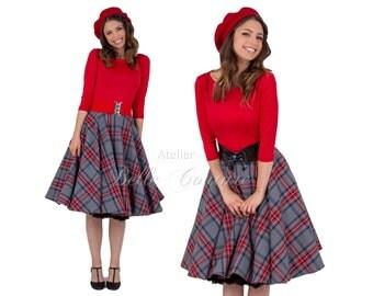 Custom Made & Handmade - 50s skirt for the winter item: 15747