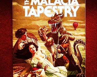 The Malacia Tapestry by Brian Aldiss 1978, ACE Vintage Science Fiction Adventure Paperback Book 1st Print