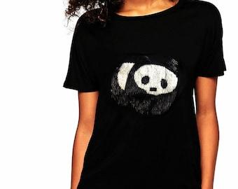 Moschino Sequin Panda T-shirt