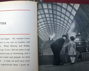 Vintage Book My Little London Book 1936 25% Off SALE