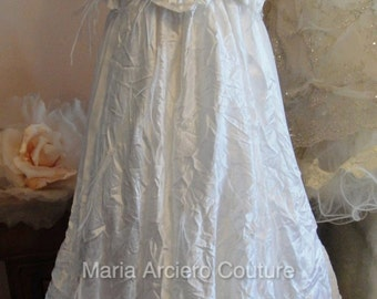 Baptism gown girls, christening gown , dedication gown
