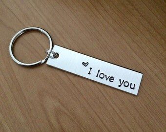 I love you keychain - Valentine's gift - boyfriend gift - girlfriend gift