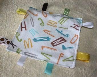 Infant/Toddler Crinkle Tag Blanket