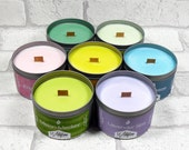 Scented Soy Candle Tin Gift Set - Any 3 Candle Tins from our Spring Range, Birthday Gift, unisex gift